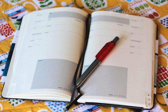 Moleskine Book Journal | was eigenes Blog