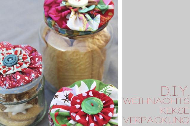 DIY Jo-Jo-Gläser für Deine Weihnachtsplätzchen | crafts idea & tutorial | waseigenes.com