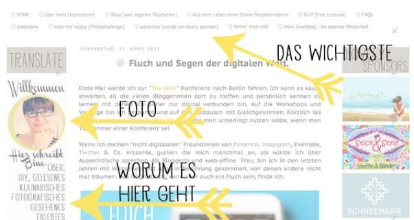 Blogdesign   social media Kanäle   Profilbild   Dawanda Shop   waseigenes.com
