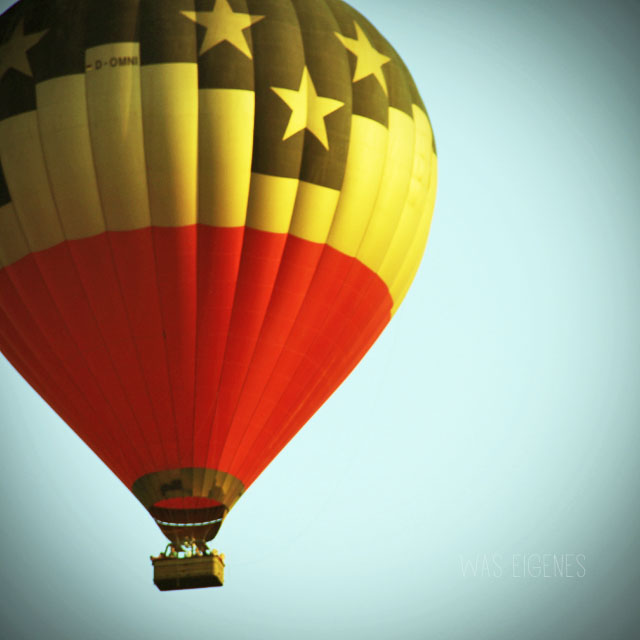 Heißluftballon | Umfrage responsive Bloglayout | waseigenes.com