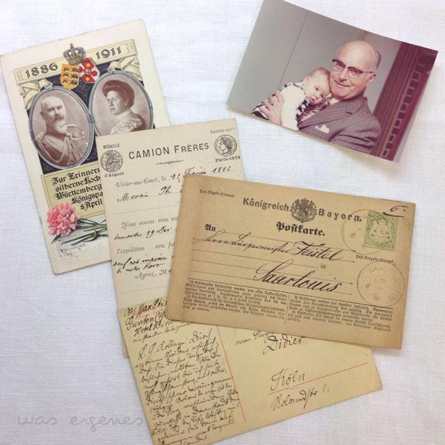 alte postkarten was eigenes