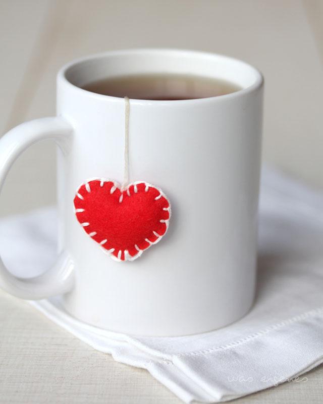 14 Dinge, die ich im Februar liebe | Valentinstag | DIY Filzherz | waseigenes.com