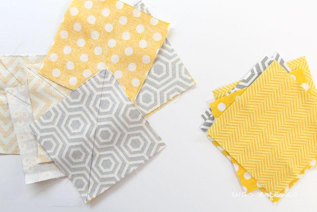 Selbernähen: DIY Patchwork Kissen | tutorial | Nähanleitung | crafts idea | was eigenes Blog