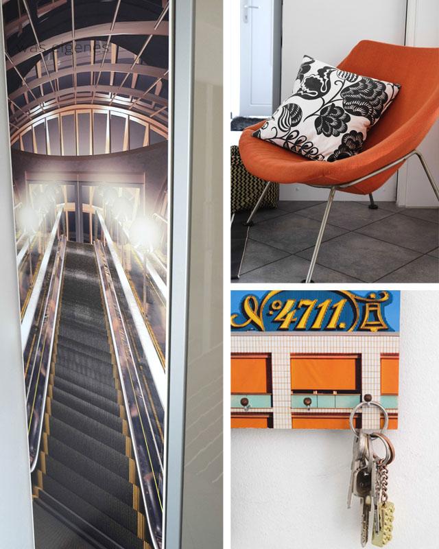 Rolltreppe im Flur | Creatisto Folie | was eigenes Blog