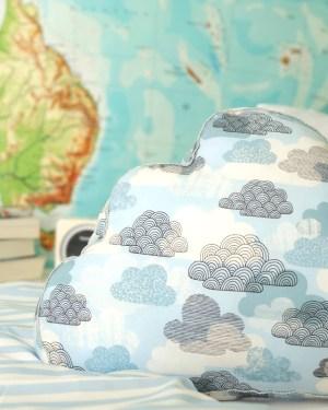 DIY | Genähtes Wolkenkissen | was eigenes Blog