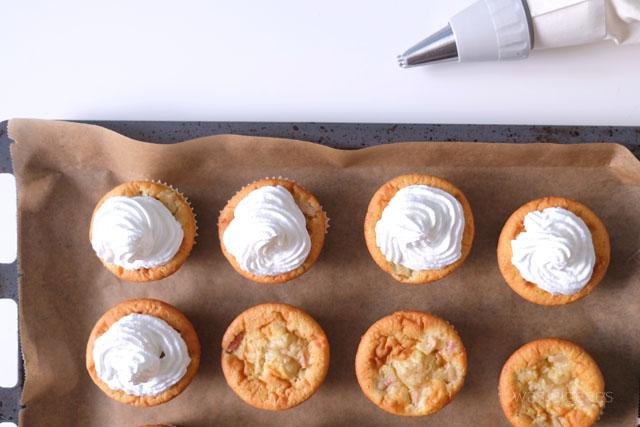 Rhabarber Cupcakes was eigenes Blog Rezept 5