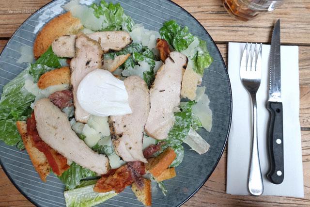 Noordwijk an Zee | Branding Beach Club | Caesar Salad | waseigenes.com Blog