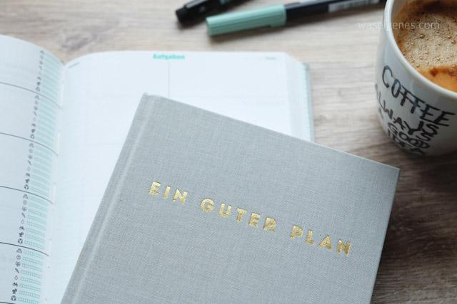 Ein guter Plan | Terminkalender | Giveaway | waseigenes.com Blog 1
