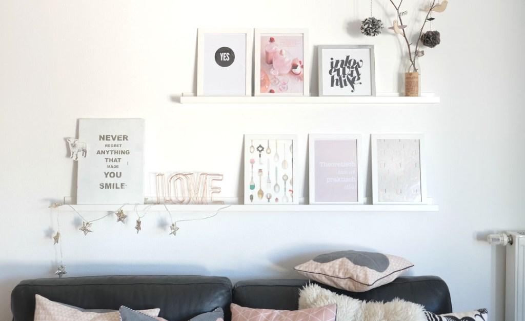 Unser Wohnzimmer Mit Neuen Farbtupfern Rosa Statt Gelb