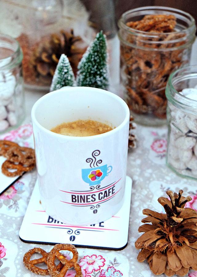 Tasse Bines Café | ZuckerZimtBrezn und Weihnachtsmandeln