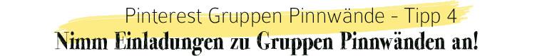 Pinterest Gruppen Pinnwand: Nimm Einladungen zu Gruppen Pinnwänden an | waseigenes.com