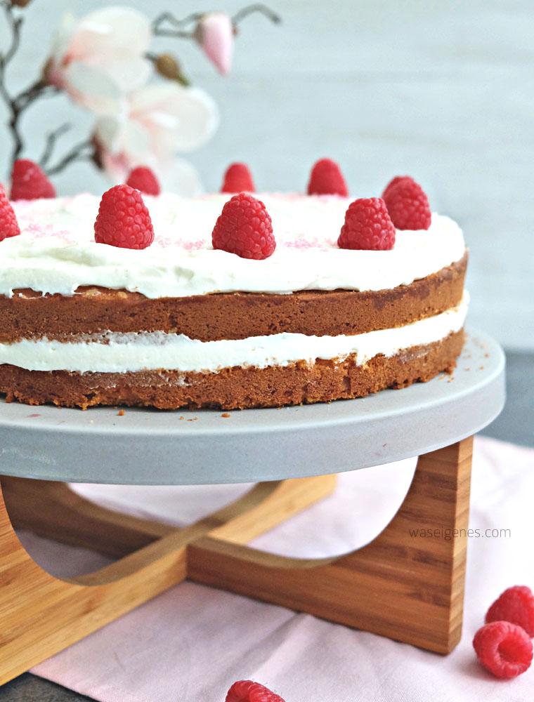 Rezept: Himbeer Mascarpone Quark Torte | waseigenes.com