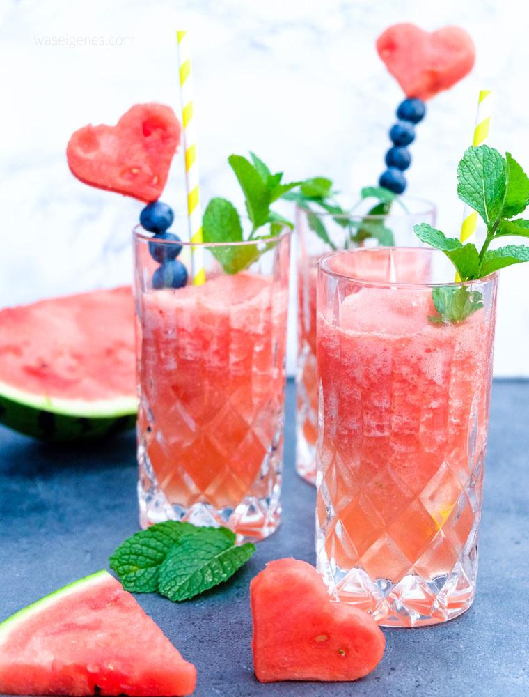 Sommer Drink: Frozen Prosecco | Wassermelonen Frosecco | waseigenes.com