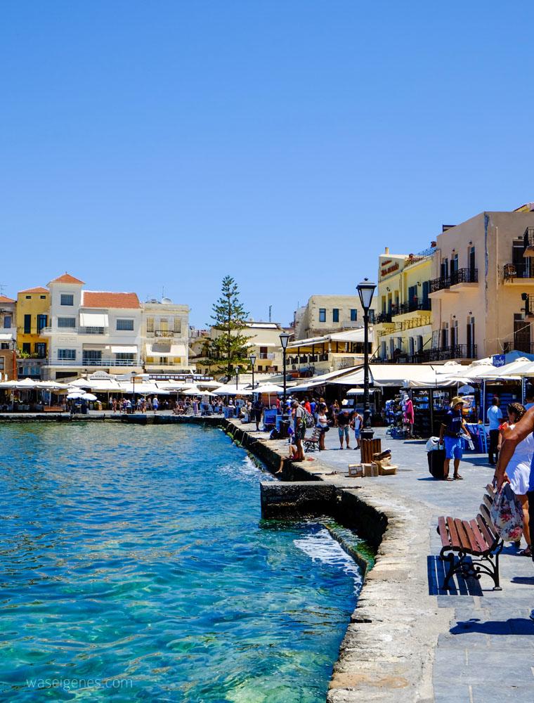 Der venezianische Hafen von Chania | Kreta | waseigenes.com