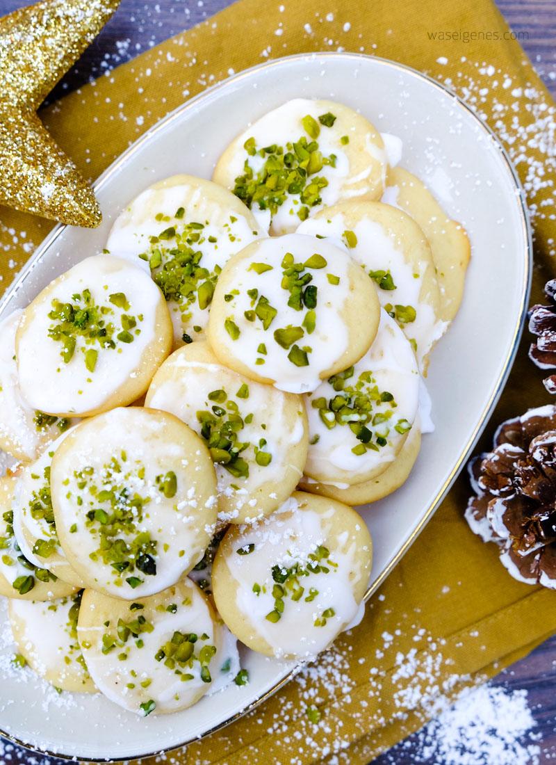 Zitronen Ricotta Kekse {Weihnachtsbäckerei mit dem Thermomix}