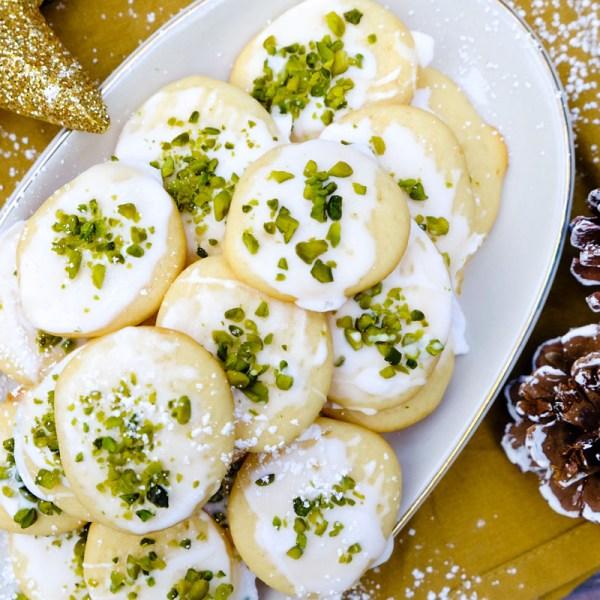 Rezept: Zitronen Ricotta Kekse   Weihnachtsbäckerei mit dem Thermomix   waseigenes.com