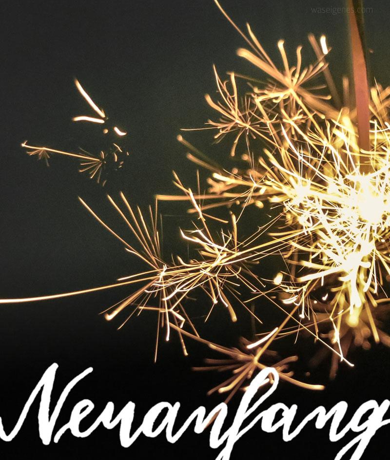 Neuanfang.   Hallo 2018!   waseigenes.com