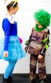 DIY Karneval Kostüme selber machen: Baum und Schaumbad | Kostüm selber nähen und basteln | Karneval, Fasching, Halloween | waseigenes.com