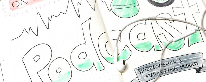 Skizzenbuch und Marketing Podcast, Bine Guellich und Johanna Fritz Interview, waseigenes