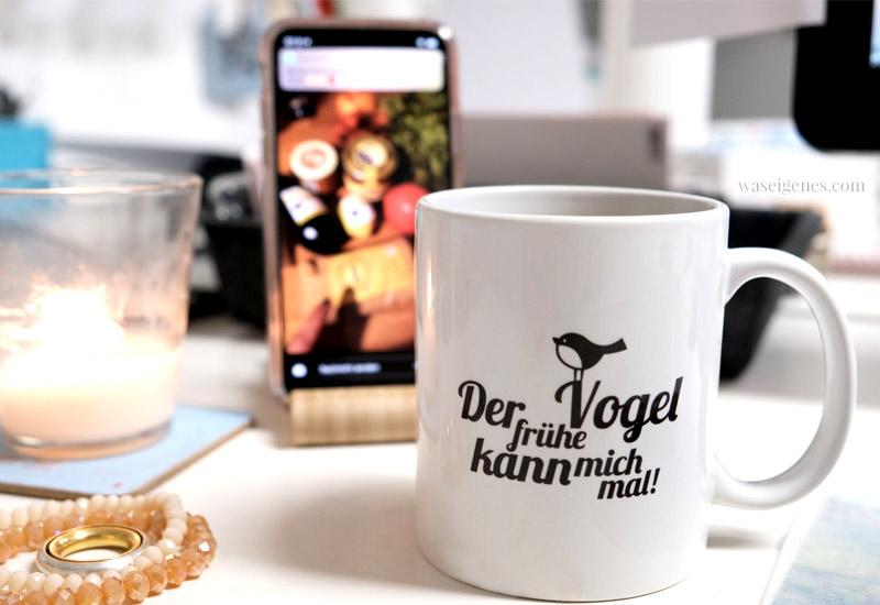 12 von 12 im Oktober 2018 | Mein Tag in Bildern | waseigenes.com Kaffeetasse