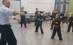 Build confidence with karate in cedar rapids