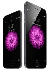 Das iPhone 6 (li.) und das iPhone 6 Plus. Foto: (c) Apple