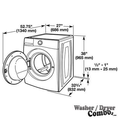 Whirlpool WFW86HEBW Steam Washer 4.1 Cu. Ft.