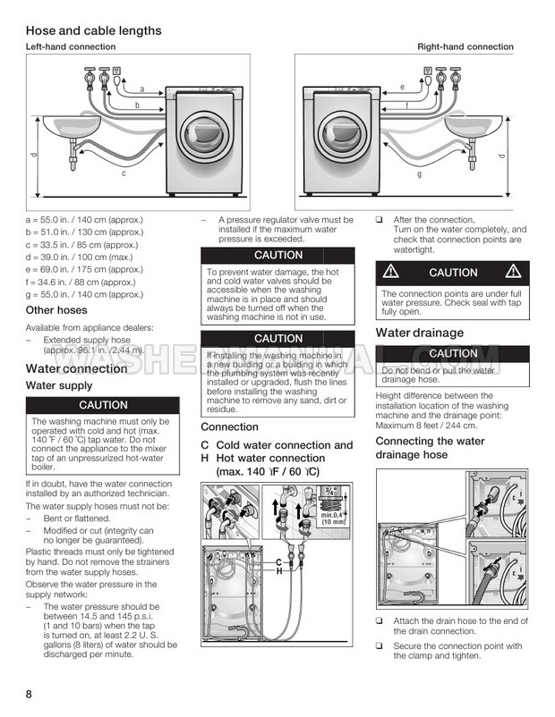 Bosch WFMC1001UC Nexxt 100 Series Washing Machine