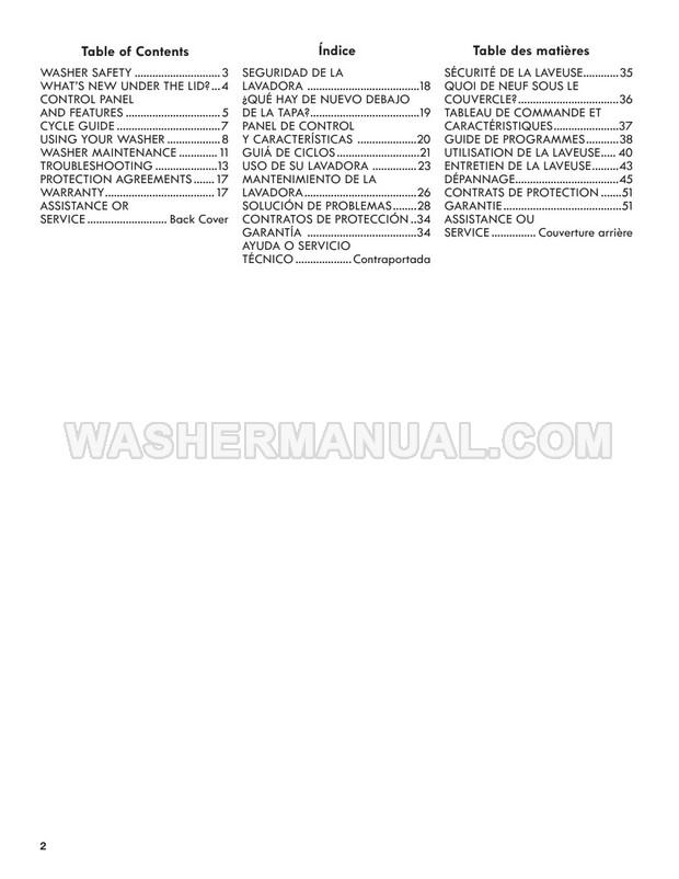 Kenmore 25132 110 Washing Machine Use & Care Guide