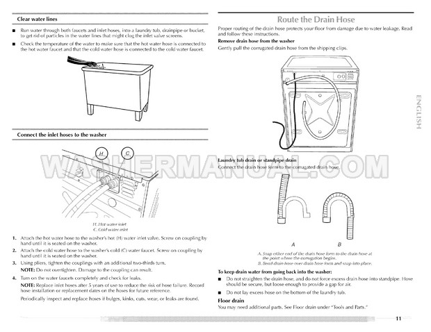 Maytag MHWZ400TQ Epic z Washing Machine Use & Care Guide