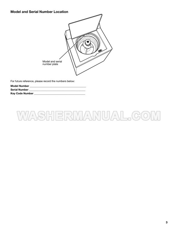Maytag MVWP575GW Use and Care Guide