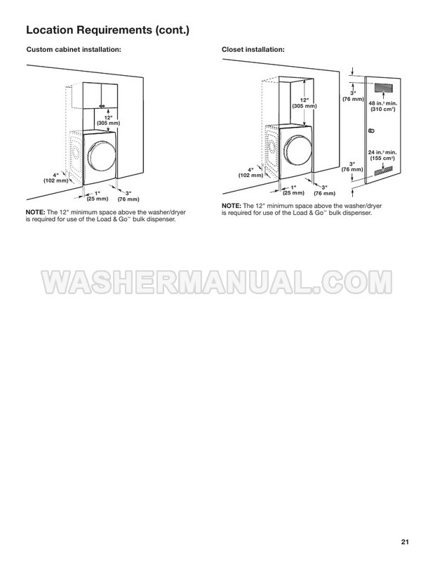 Whirlpool WFC8090GX Smart All-In-One Washer & Dryer