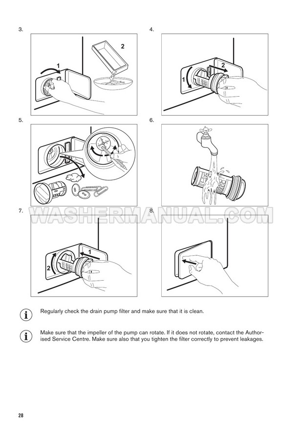Zanussi ZWD86NB4PW Washer Dryer User Manual