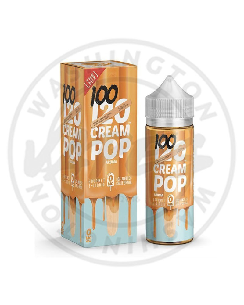 Mad Hatter 120 Cream Pop 100ml (Any 2 for £20) - Washington Vapes