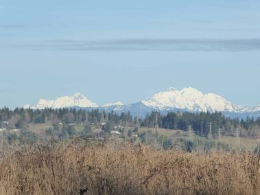 Pilchuck on left - Granite on right