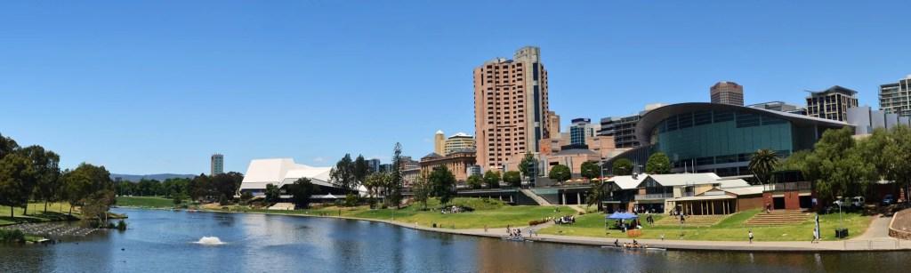 Adelaide City panoramic