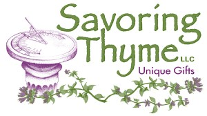 SavoringThyme2013 New Logo with Unique gifts.-1