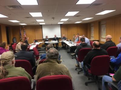 Washington County executive committee