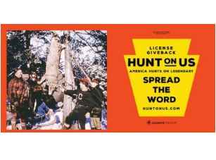 Hunt on us graphic