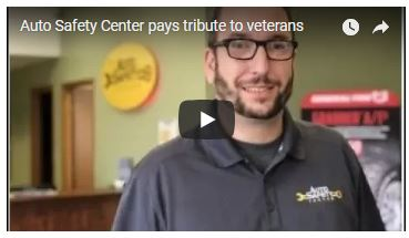 Auto Safety Center pays tribute to veterans