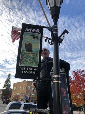Helping remove ArtWalk banners