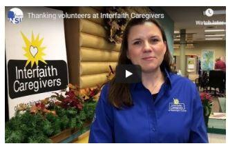 Leah at Interfaith Caregivers