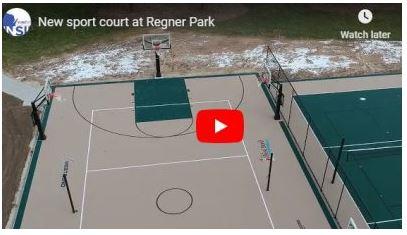 Sport court at Regner Park