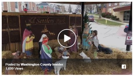 Downtown West Bend Nativity