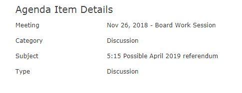 West Bend School Board Monday meeting