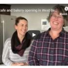 Katherine and Sara owners of new bakery cafe