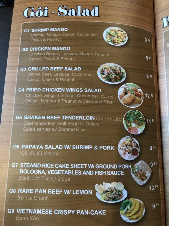 Pearl of Canton menu