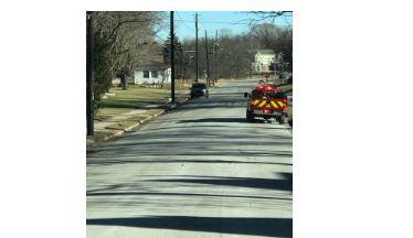 Hartford fire on Loos Street
