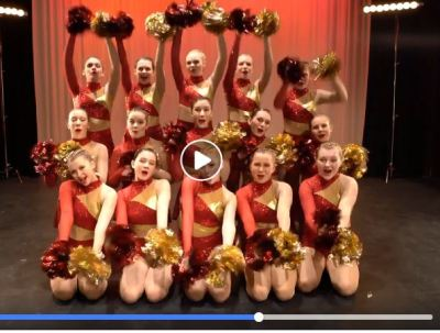 West Bend East Dance team