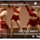 West Bend East dance in Colder's ad